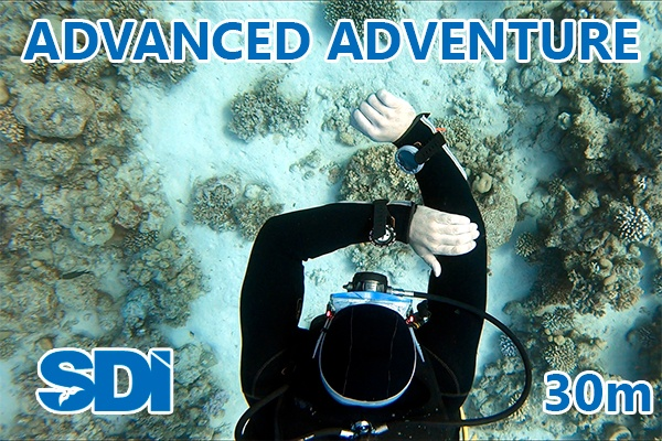 SDI Advanced Open Water Diver
